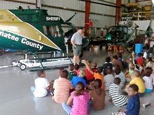 Tour of Sheriff's helicopter